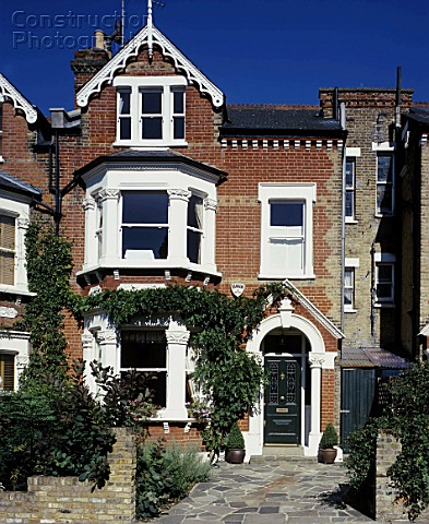 Mid terrace Victorian house south London