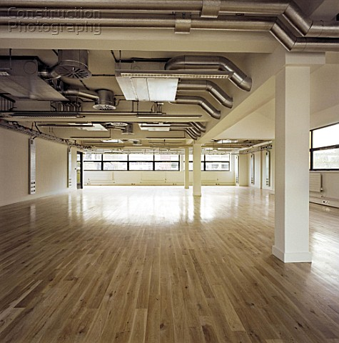 Warehouse refurbished to highest standard with maple floor