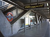 Canning Town London Underground Station. London, United Kingdom.