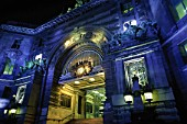 Entrance arch to Waterloo Station. London. United Kingdom.