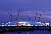 Millennium Dome. London. United Kingdom. Designed by Richard Rogers Partnership.