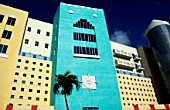 New hotel on Miami beach.