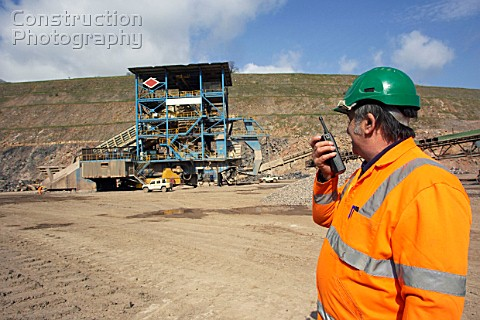 The Yeoman Torr Works quarry in Shepton Mallet England is one of the largest quarry in the UK