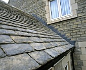 Traditional slate roof