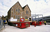 Lifting and moving intact a 15th century listed historic building to a new site in Boston (UK)