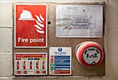 Fire point - fire alarm and safety information