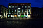 Harvey Nichols at night, Edinburgh, Scotland
