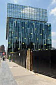 Palestra building, Southwark, London, UK. Designed by Alsop Architects.