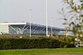 Stansted Airport, Essex, UK. Architect, Foster and Partners