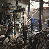 Underpinning foundations at Endeavour House, Shaftesbury Avenue, London, UK
