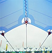 Canopy of the Ashford Designer Outlet, Kent, UK
