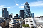 30 St Mary Axe, The Gherkin, City of London, London, UK