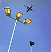 Lightings, London City Airport