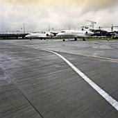 Runway extension on London City Airport