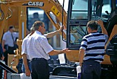 Buying construction equipment