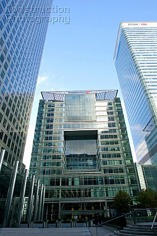 Bank of America building Canary Wharf London
