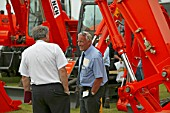 Machinery exposed at SED, the annual UK trade Fair for the construction Industry, plant hire and heavy machinery manufacturers.