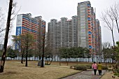 New Apartments, Suwon, Seoul, Korea