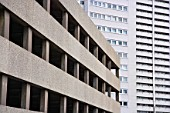 Car park and Office Block, Birmingham, UK