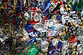 Compacted can recycling