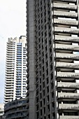 Apartment block, The Barbican, London, UK