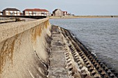 Sea wall, Jaywick, Essex