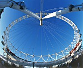 London Eye (Millennium Wheel). London, United Kingdom. Designed by David Marks and Julia Barfield.
