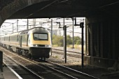 Intercity 125 train, UK.