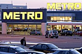 Store of METRO AG  in Dortmund-Oespel, Germany