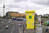 Biggest garbage can in the world, Berlin, Germany.