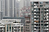 High rise housing, Shanghai, China.