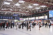 Concourse of London Bridge train station