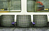 London Underground carriage seating