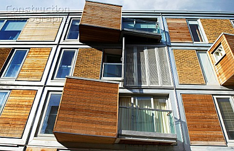 A052 00535 Regeneration Of East London Uk Example Of Construction Photography