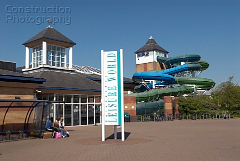 Colchester Leisure and Swimming Pool Complex Colchester Essex UK
