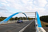 New road bridge over A12, Essex, UK