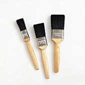 Different sized paint brushes