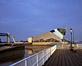 The Deep, Hull.  Sammys Point, River Humber, East Yorkshire, United Kingdom. Designed by Sir Terry Farrell & Partners.