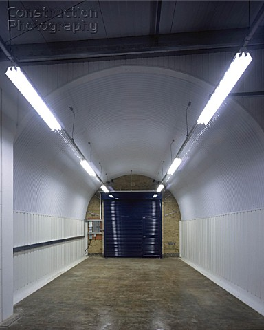 Interior of Converted Railway Arch in Deptford