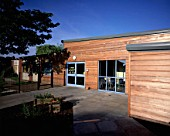 Modern Timber Clad Primary School