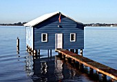 Typical Boat house construction in Western Australia