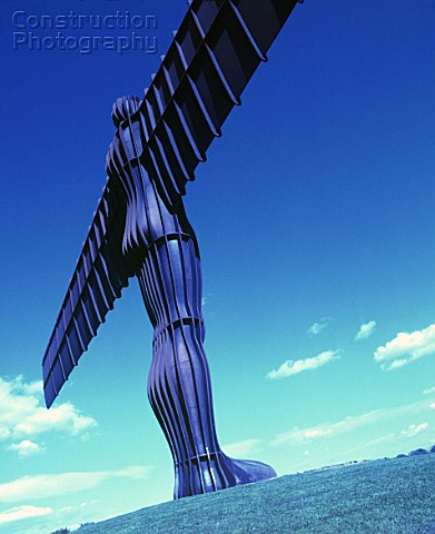 Angel of the North Britain largest sculpture created by UK artist Anthony Gormley OBE The height is