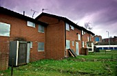 Derelict housing estate, Manchester