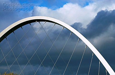 The Hulme Arch Bridge Manchester UK