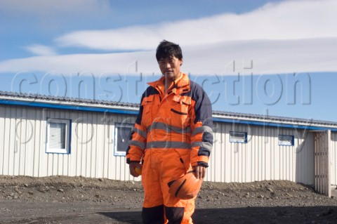 There are over 1500 contract workers employed in the construction of the Karahnjukar dam in Iceland