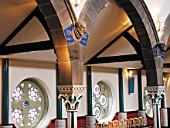 Oran Mor, heritage building redeveloped as an entertaining venue with auditorium, bars and restaurant, Glasgow, Scotland, UK.