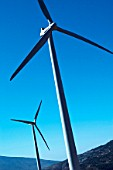 Wind Turbine in the Andalusia region of southern Spain