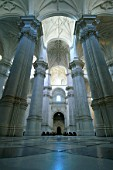 Interior view of Granada Cathedral, Spain.
