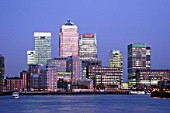 Canary Wharf, Docklands area. London, United Kingdom.