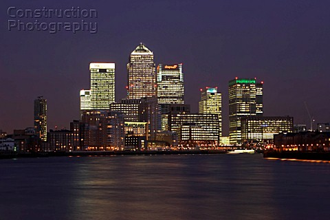 Canary Wharf Docklands area London United Kingdom